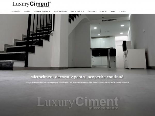 LuxuryCiment | calitatea si aplicare Microciment