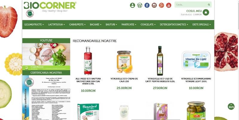 Biocorner.ro sau resursa ta de produse bio