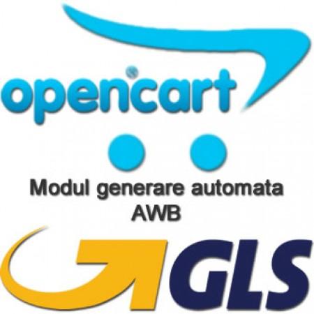 GLS awb Opencart versiunile 2.x.x